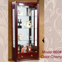 Modern Vitrine Living Room Cabinets With Glass Doors