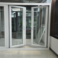 Home Design Front Door Designs Double Tempered Glass Door