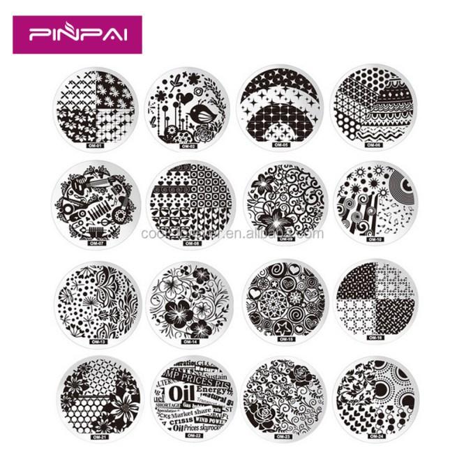 Nail Art Printer Diy Pattern Sting Printing Machine 6 Metal Plates Colors Drawing