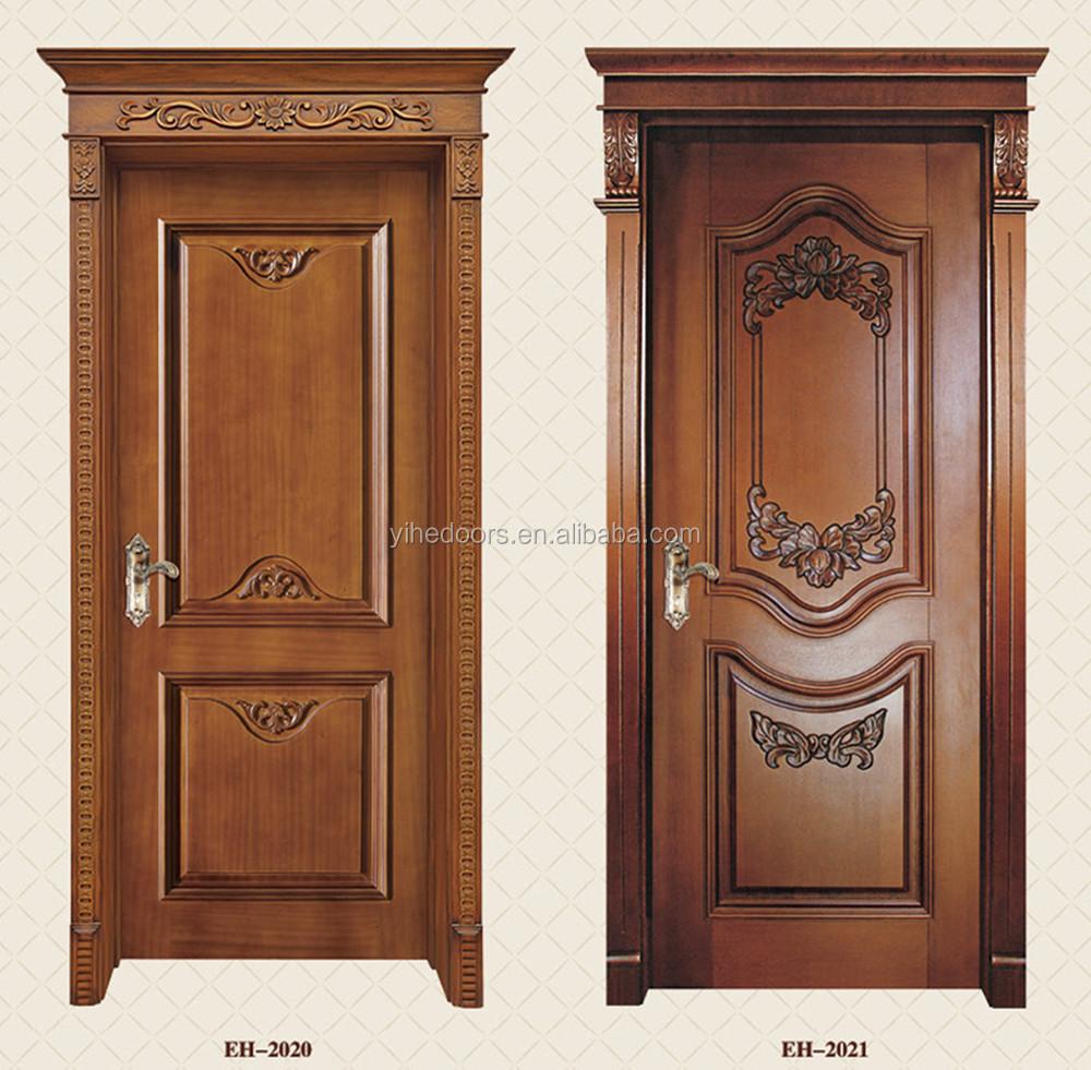 Classical Wooden Single Main Entrance Door Design