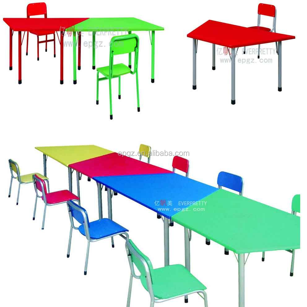 Desk And Chair Set Wood Trapezoidal Desk And Chair Modern Student Home Colourful Table Buy Wood Trapezoidal Desk And Chair Modern Student Home Table Colourful Study