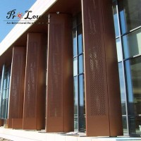 Architectural Picture Perforated Metal Panel For Facades ...
