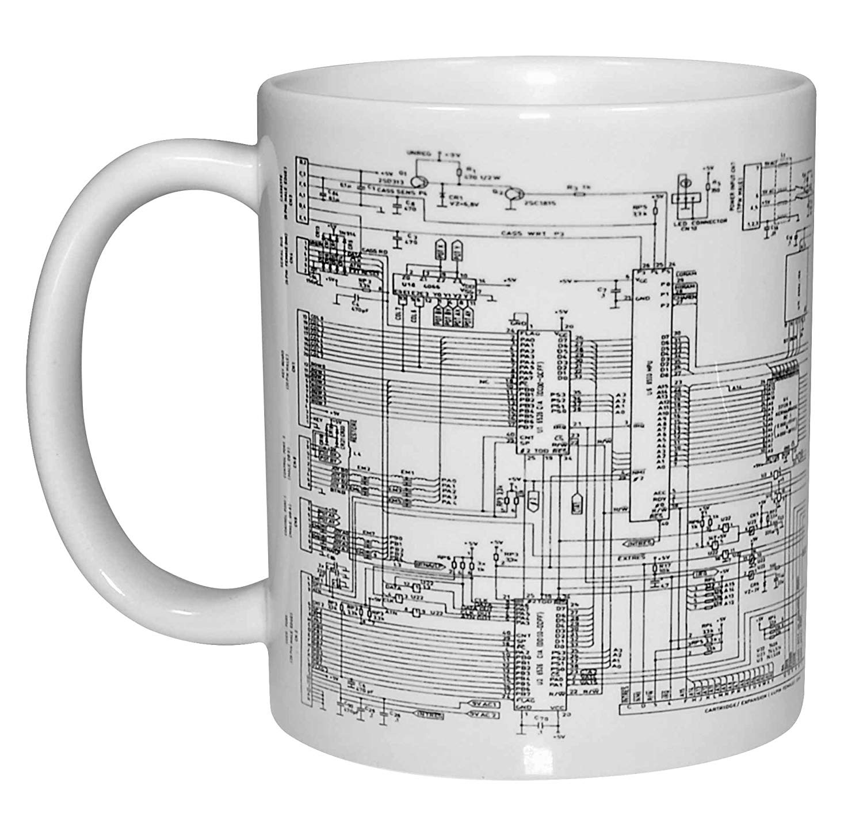 hight resolution of get quotations circuit diagram image coffee or tea mug