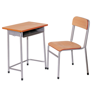 study desk and chair white computer school single student furniture table set buy product on