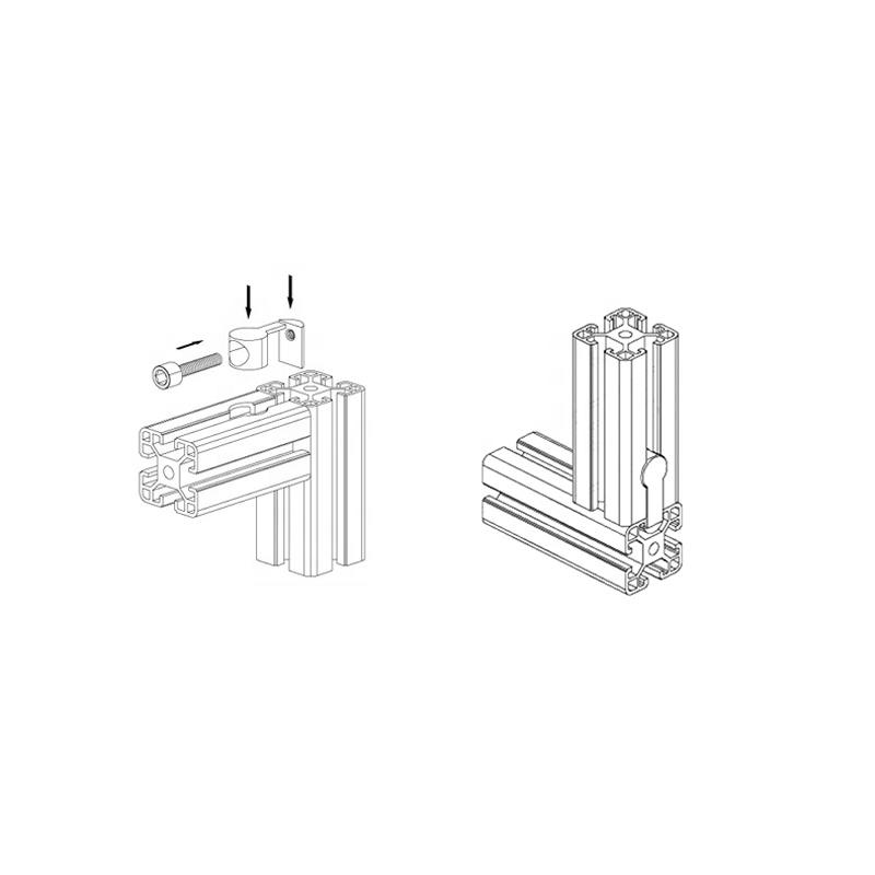 Wholesale Interior Corner Connector Accessories For