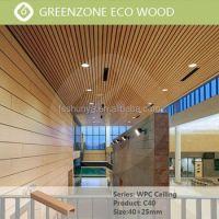 Indoor Wood Pvc Ceiling Wood Ceiling Beams Plastic Wood ...
