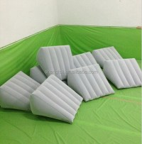 Inflatable Flocked Pillow Camping Beach Wedge - Buy ...