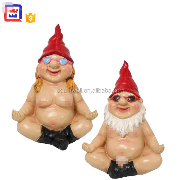 Resin Naked Couples Garden Gnome Buy Naked Couples Garden Gnomes Naked Garden Gnomes Garden Gnome Product On Alibaba Com