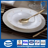 wholesale bone china gold rimmed dinner plates, wholesale