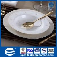 wholesale bone china gold rimmed dinner plates, wholesale ...