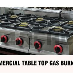 Natural Gas Kitchen Stove Cleaning Check List 6 Burners Free Standing Type Commercial Burner ...