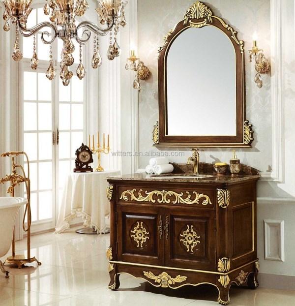 Antique Fine Handmade Victorian Bathroom Vanity Vintage