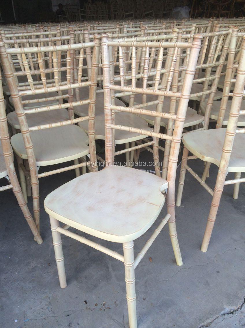 White Washed Chiavari Chair Limewash Tiffany Chair For