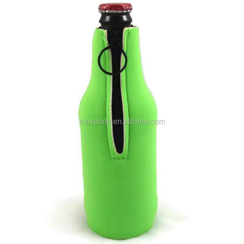 Custom 3mm Neoprene Bicycle Hot Water Bottle Holder With