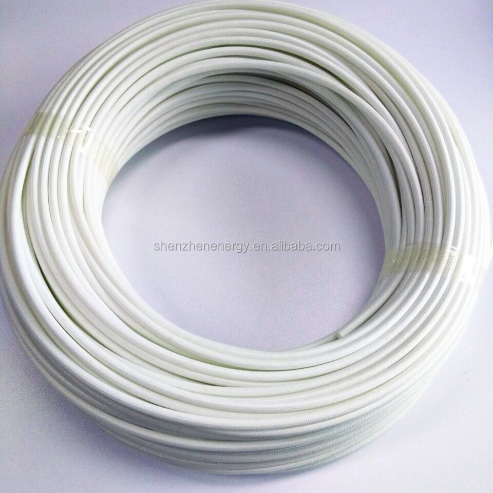 hight resolution of wire harness braided fiberglass insulation silicone rubber tube