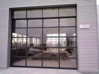 China Customized Size Tilt Up Glass Panel Garage Door ...