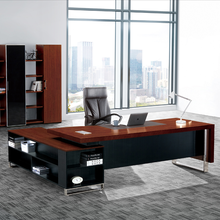 Modern Luxury Wooden Office Executive Desk Buy Modern Executive Desks Sale Tall Office Desks Office Desk On Promotion Product On Alibaba Com
