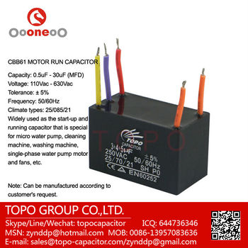 Fan Capacitor Cbb61 5 Wire With CE Rohs View Fan Capacitor Cbb61