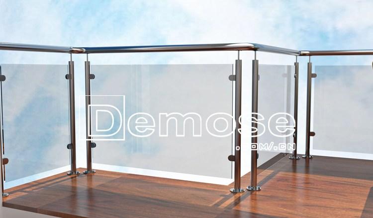 Glass Railing Home Depot Handrail Systems Buy Glass Railing | Indoor Railings Home Depot | Handrail | Inside | 3 Step | Veranda | Pre Assembled