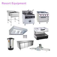Kitchen Equipment Stone Backsplash High Quality Resort Restaurant Supplies Prices