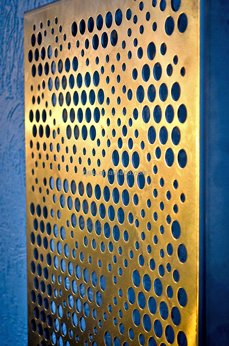 Building Wall Metal Perforated Decorative Sheet