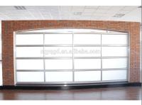 Plexiglass Glass Aluminum Full View Garage Doors - Buy ...