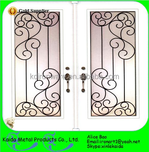 Cheap Custom Design Wrought Window Iron Grills Decorative House