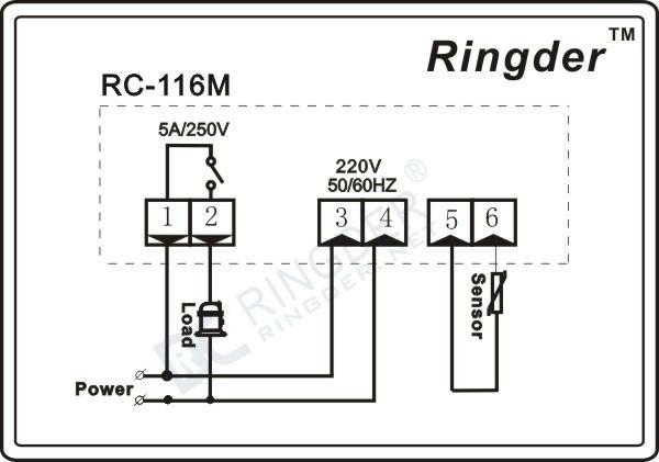 Led Microcomputer Temperature Controller Control Accuracy