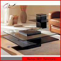 Fancy Solid Wood Mdf Coffee Table