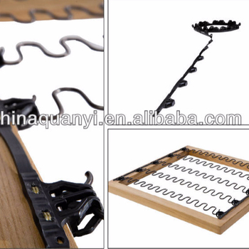sofa spring clip strip ikea karlstad white leather 4420 for zigzag springs