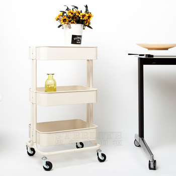 kitchen utility carts victorian cabinets best quality rask og makeup cart organizer