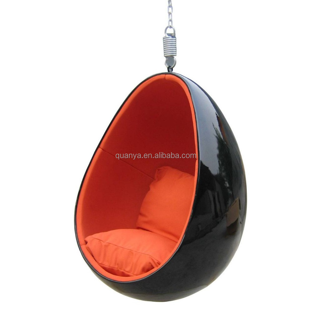 hanging chair egg best high for babies 2018 factory direct sale fiberglass ceiling swing