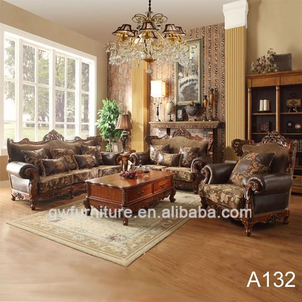corner sofa set latest design living room designs with dark brown elegant solid wood hand carving simple ...