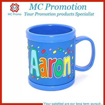 kids personalized plastic coffee