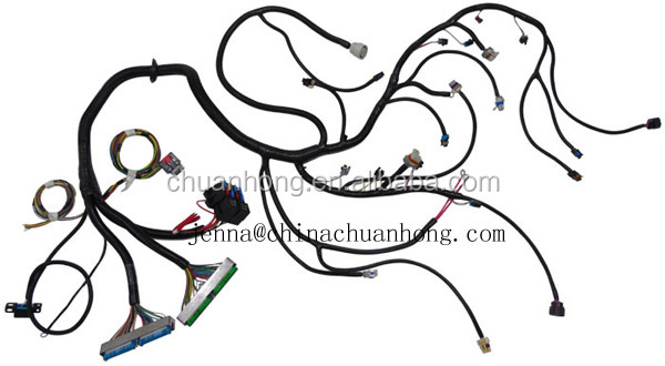 2003-2004 Super Duty Ford Engine Wiring Harness 6.0l 1/30