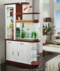 Hot Selling Glass Room Dividers With Fishbowl S971# Living ...
