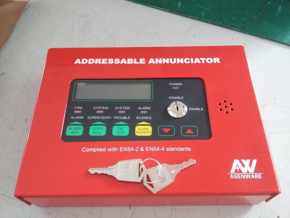 Addressable Type Wall Mounted Fire Alarm Floor Display