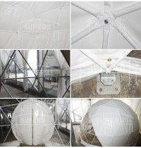 Clear Bubble Lodge Camping Igloo Dome Tent Clear Plastic ...