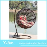 Rattan Hanging Big Round Swing Chair - Buy Round Swing ...
