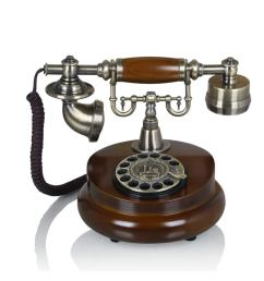 get quotations landline telephone european home retro telephone old fashioned antique phone wood phone  [ 1000 x 1000 Pixel ]