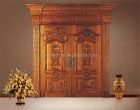 Solid Teak Wood Main Double Door Designs In Chennai - Buy ...