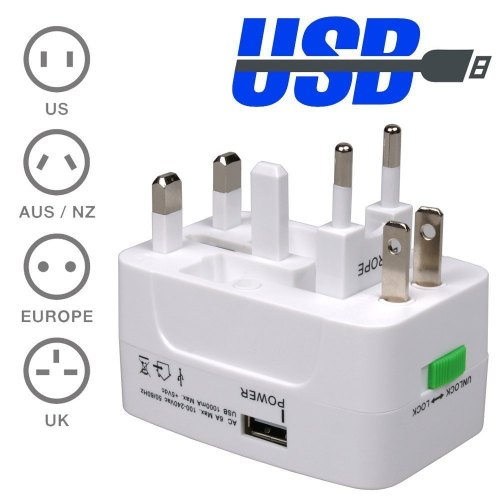 small resolution of female to male 220v to 110v plug adapter convenience outlet with usb convert 110v