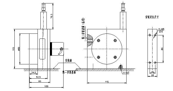 Position Measurement Linear Wire Encoder Laser Distance