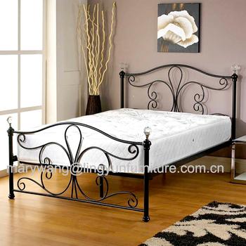 nouveau blanc en metal lit cadre de lit super king size 180x200 cm incl cadre a