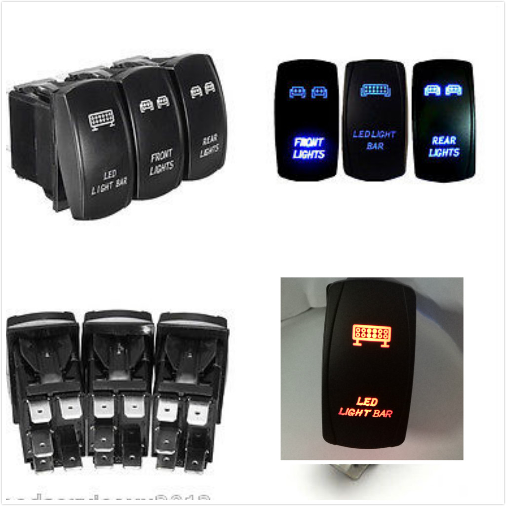 hight resolution of wiring diagram 5pin on off rocker switch jeep vehicle led light bar
