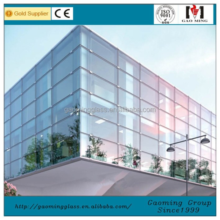 Curtain Wall System Manufacturers : Frameless glass curtain wall system