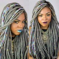 Micro Braids Crochet Hair | Short Hairstyle 2013
