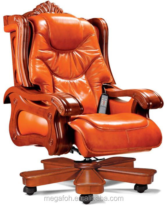 throne office chair camouflage recliner chairs luxury furniture swivel cheap king with wooden footrest foh a01