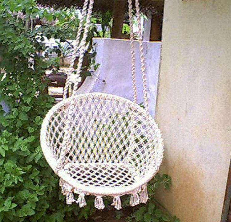 hammock chair for bedroom upholstery accessories hanging rope round swing - buy hammock,hanging chair,indoor ...