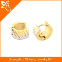 Ring Type Clip-on Top Earrings Designs For Boys Gold Ear ...